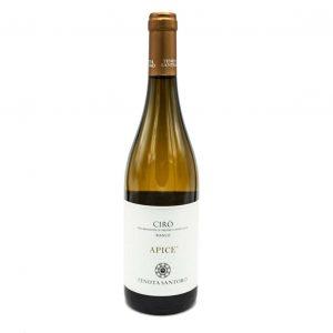 Vino bianco Apice tenuta Santoro